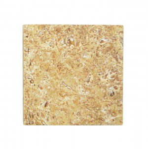 Natursteinfliesen Travertin Castello Gold 30,5x30,5cm